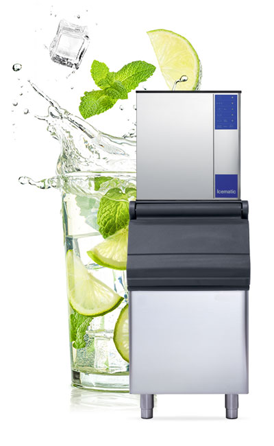 The M Series, 100% Italian made, harvest assisted modular ice machine from Icematic. The orginal and most loved ice machine on the market.