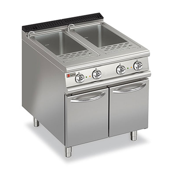 Baron pasta cooker double well gas 7cp e800