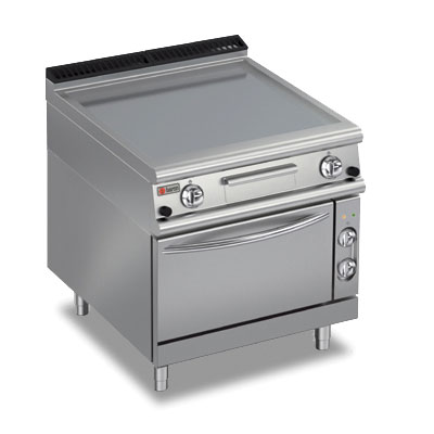 Baron griddle smooth mild steel oven gas electric 70fttf ge800