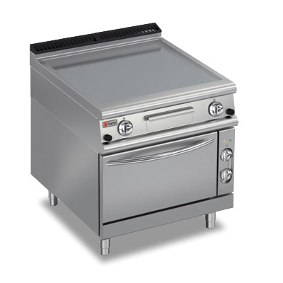 Baron griddle smooth chromed oven gas electric 70fttf ge805
