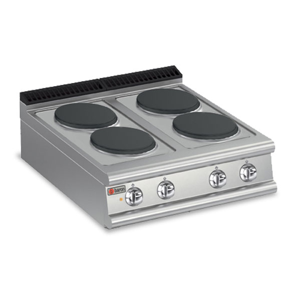 Baron cook top electric four burner 7pc e800