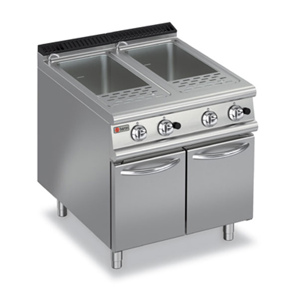 Baron pasta cooker double well gas 7cp g800
