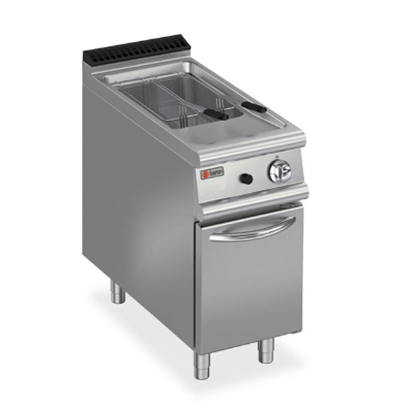 Baron deep fryer single pan gas 7fri g415