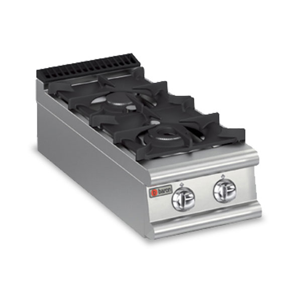 Baron cook top gas two burner 7pc g4005
