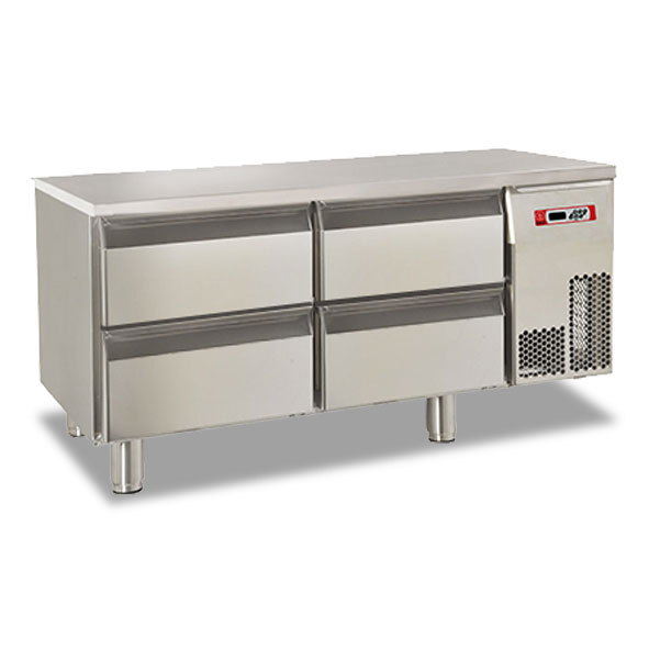 Baron refrigerated base four drawer electric br12sp03