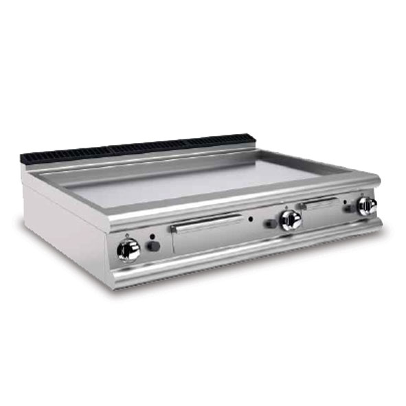 Baron griddle smooth chromed gas 90ftt g1205