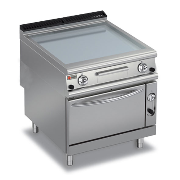 Baron griddle smooth mild steel oven gas electric 90fttf ge800