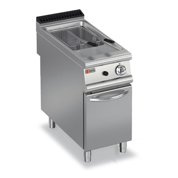 Baron deep fryer single pan gas 9fri g420