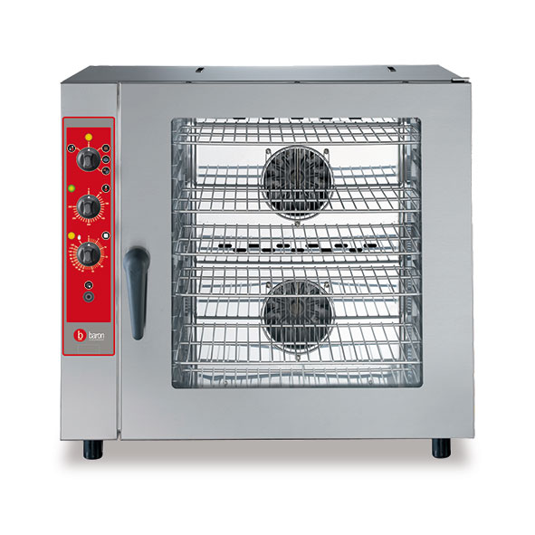 Baron combi oven electric manual control brev071m