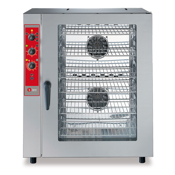 Baron baron convection oven humidity electric 10x1 1gn manual control brev101m