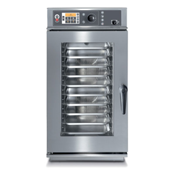 Baron baron combi oven electric 10x1 1gn slim line touch control direct steam cev101x