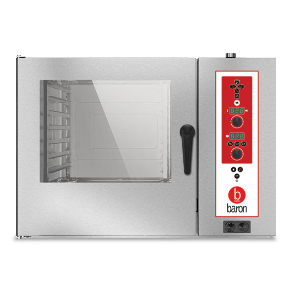 Baron combi oven electric electronic control opves072