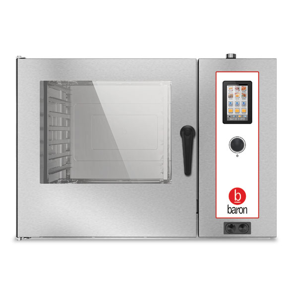 Baron combi oven electric touch control opvet072