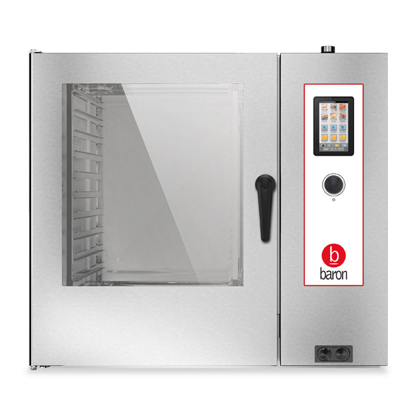 Baron baron combi oven electric 10x2 1gn touch control direct steam opvet102