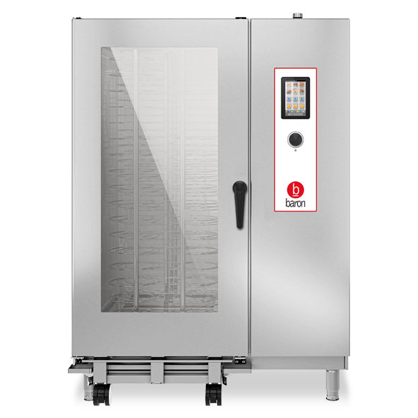 Baron baron combi oven electric 40x1 1gn touch control direct steam opvet202