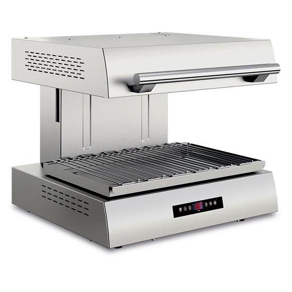Baron baron salamander grill adjustable height ultra rapid electric salamander 700x365 cooking surface sdsm7e