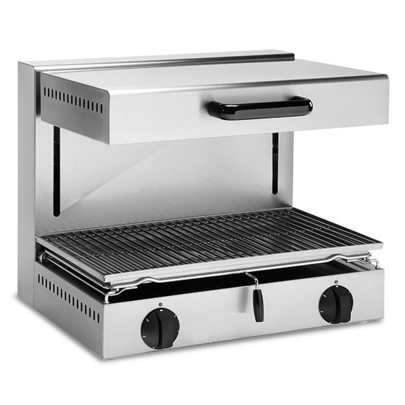 Baron baron salamander grill adjustable height electric 600x350 cooking surface se60 0