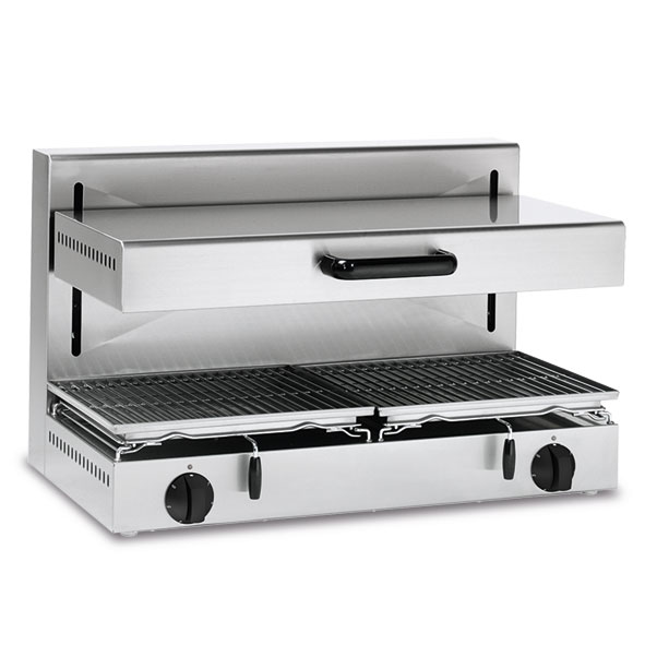 Baron baron salamander grill adjustable height electric 800x350 cooking surface se80 0