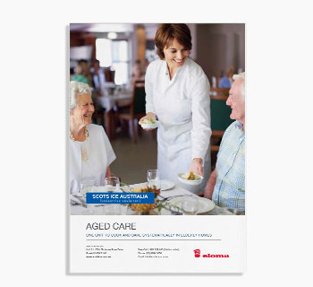 Eloma Sector Focus Brochure: Aged Care