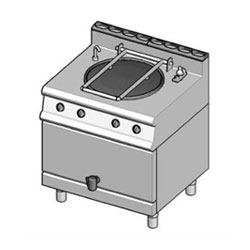 Baron 7NP/EI60 Electric Stock Pot Indirect electric stock pot. 60L max capacity.