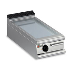Baron 7FT/E400 Electric Griddle Plate Smooth, mild steel electric bench model griddle plate.