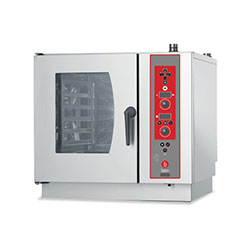 Baron BCKE S07 Electric Combi Oven 7 x 1/1GN electric direct steam combi oven. Electronic controls.