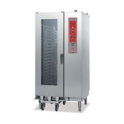 Baron BCKE S21 Electric Combi Oven 20 x 1/1GN electric direct steam combi oven. Electronic controls.