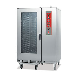 Baron BCKE S40 Electric Combi Oven 20 x 2/1GN electric direct steam combi oven. Electronic controls.