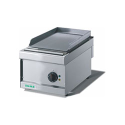 Emme FT4 Electric Griddle Plate Smooth, mild steel, bench model griddle plate, 15 AMPS.