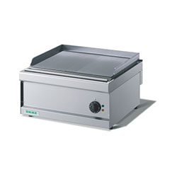 Emme FT6 Electric Griddle Plate Smooth, mild steel, bench model griddle plate, 20 AMPS.