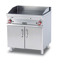 Lotus FTL-78G Gas Frytop with Cabinet Gas frytop with cabinet, 2 heat zones.