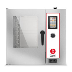 Baron OPVET071 Electric Combi Oven 7 x 1/1GN electric direct steam combi oven. Touch screen controls.