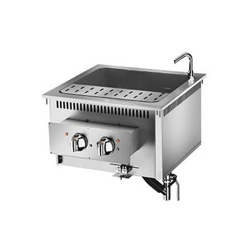 Baron baron 42l single basin drop in electric pasta cooker di7cpe642