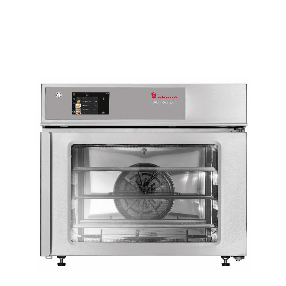 Eloma eloma backmaster compact eb30 electric baking oven active dehumidification rh door el3013001 2a