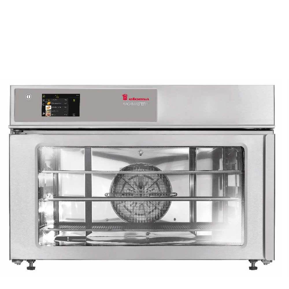 Eloma eloma backmaster compact eb30xlwt electric baking oven active dehumidification lh door el3613004 2a