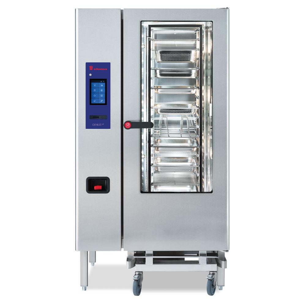 Eloma eloma geniusmt 20 11 gas combi oven rh door el2116005 2x
