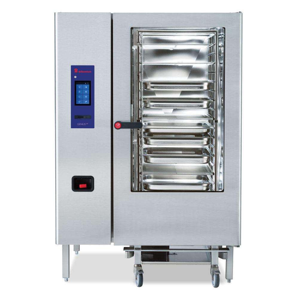 Eloma eloma geniusmt 20 21 electric combi oven rh door el2213001 2x