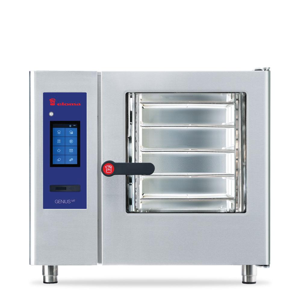 Eloma eloma geniusmt 6 11 electric combi oven rh door el6113028 2a