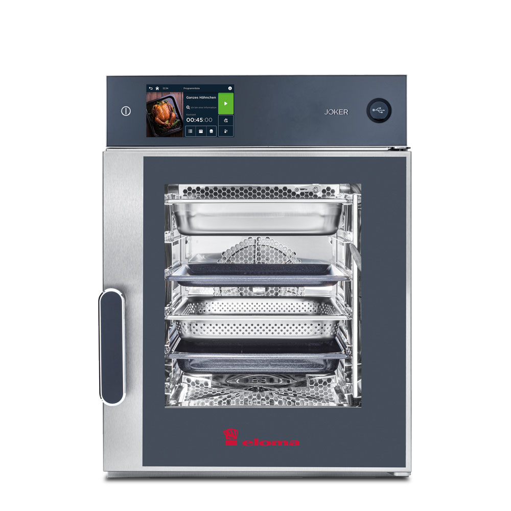 Eloma eloma electric combi oven top control right hinge joker 6 11 mt tc rh