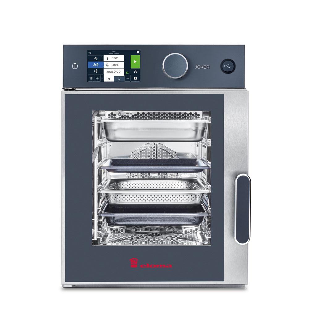 Eloma eloma electric combi oven top control left hinge joker 6 23 st tc lh
