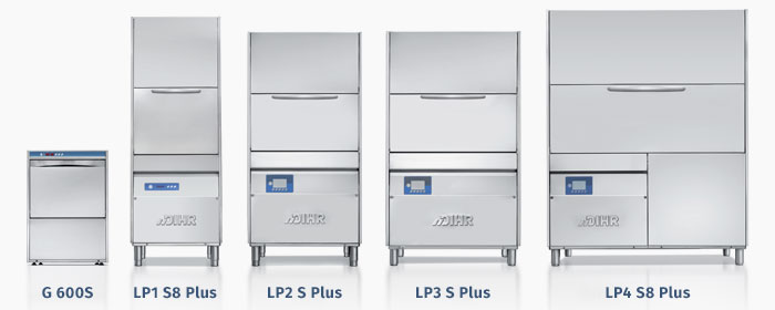 Dihr LP Series Utensil and Pot Washers, Wide range available, undercounter and upright, heat recovery versions available