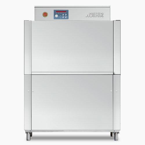 Dihr RX101E compact rack conveyor dish washer, reversible feeding, Racks/hour: 70/110