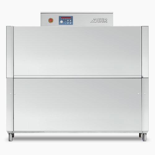 Dihr RX164E compact rack conveyor dish washer, Racks/hour: 100/150
