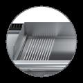 Baron Commercial Dream Kitchen | Removable splashback