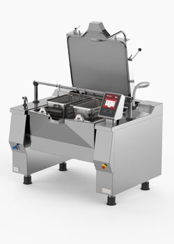 Firex Versatile and efficient tilting bratt pan