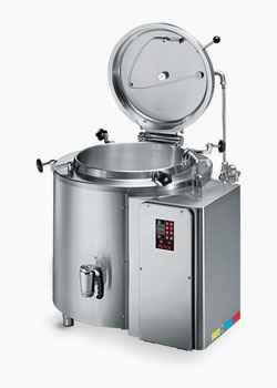 Firex Industrial pans for pasteurisation of jars and foods