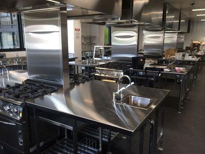 Ballina Coast High School Training Kitchen