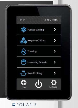Polaris Genius Roll In Chillers Plus Version Control Panel