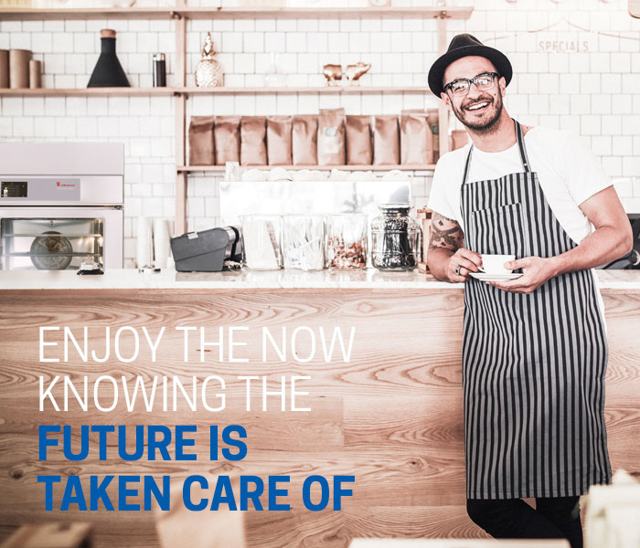 Enjoy the now knowing the future is taken care of with Hospitality Equipment Finance
