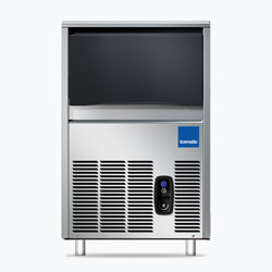 Icematic CS Series: CS25-A, 22kg production of bright gourmet ice, 7kg internal storage, self contained ice machine cuber